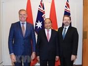 Le PM Nguyen Xuan Phuc rencontre des dirigeants du Parlement australien