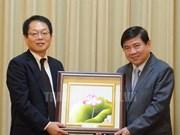 Hô Chi Minh-Ville propose à la JICA de soutenir ses projets clés