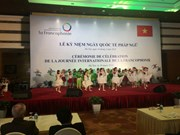 La Journée internationale de la Francophonie 2018 célébrée à Hanoi