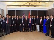 Le PM rencontre des entrepreneurs et intellectuels en Australie