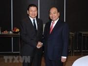 Sommet ASEAN-Australie: le PM Nguyên Xuân Phuc rencontre son homologue laotien