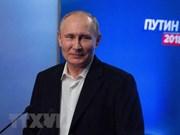 Message de félicitations du président Trân Dai Quang à son homologue russe Vladimir Poutine