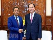 Le président reçoit l'ambassadeur sortant d'Arabie saoudite