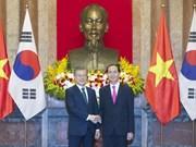 Le Vietnam souhaite resserrer ses relations avec la R. de Corée pour un développement durable