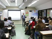 Présentation du Vietnam à des étudiants argentins