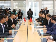 La présidente de l'AN rencontre son homologue indonésien à Genève