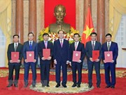 Le président Trân Dai Quang nomme de nouveaux ambassadeurs