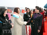 La présidente de l'AN entame une visite officielle aux Pays-Bas