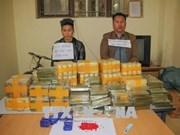 Un énorme trafic d'héroïne et drogues de synthèse démantelé à Diên Biên