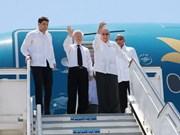 Le secrétaire général du PCV part pour Santiago de Cuba