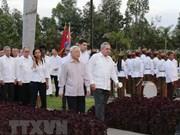 Activités de Nguyen Phu Trong à Santiago de Cuba