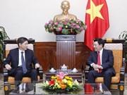 Le vice-PM Pham Binh Minh reçoit l'ambassadeur de R. de Corée au Vietnam