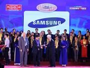 Remise du prix Dragon d'or aux meilleures entreprises au Vietnam