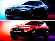 Vinfast a déposé deux modèles de voitures auprès de l'EUIPO
