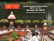 Ouverture de la 16e conférence de l'organisation du Parti de HCM-Ville (Xe exercice)