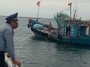 Les localités côtières s'efforcent de lutter contre la pêche INN