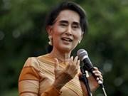 La conseillère d'Etat du Myanmar entame sa visite officielle au Vietnam