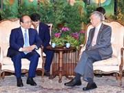 Le Vietnam et Singapour publient une déclaration commune