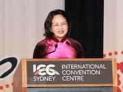 La vice-présidente vietnamienne exhorte les femmes à tirer la connectivité économique