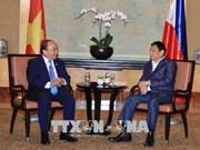 Le PM Nguyen Xuan Phuc rencontre le président philippin Rodrigo Duterte