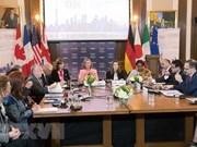 Les ministres des AE du G7 préoccupés par la situation en Mer Orientale (mer de Chine méridionale)