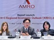 ASEAN+3 devrait enregistrer cette année une croissance de 5,4%