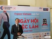 300 personnes trouvent des emploi au Salon de l'emploi Vietnam-France