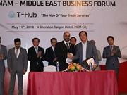 Le Vietnam et le Moyen-Orient promeuvent les liens d'affaires