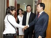 Renforcement de la coopération entre les jeunes Vietnamiens et Cubains