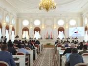Célébration du 95ème anniversaire de l'arrivée de Ho Chi Minh à Saint-Pétersbourg