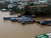Trois projets d'amélioration des infrastructures du transport fluvial