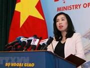Le Vietnam demande à la Chine de mettre fin immédiatement aux exercices militaires à Hoàng Sa