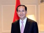 Le président Tran Dai Quang effectuera une visite d'Etat au Japon