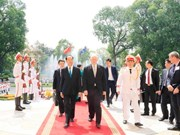 Le gouverneur général australien termine sa visite d'État au Vietnam