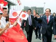 Le président Trân Dai Quang visite la préfecture japonaise de Gunma