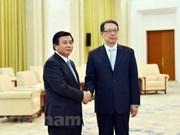 Le Parti communiste chinois prend en considération le développement des liens avec le PCV