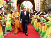Le 2562e anniversaire de la naissance de Bouddha célébré à Hanoi