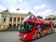 La capitale Hanoi en bus à impériale