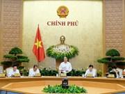 Ouverture de la réunion périodique du gouvernement de mai