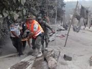 Le Vietnam adresse un message au Guatemala après l'éruption du Fuego
