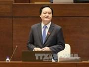 AN : le ministre de l'Education et de la Formation réponde aux questions des députés
