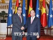 Le PM reçoit le président du Congrès des Etats fédérés de Micronésie