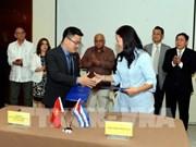 Vietnam-Cuba : des entreprises signent des accords commerciaux
