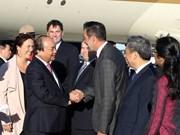 Le PM arrive au Québec pour le sommet du G7 et la visite au Canada