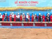 La plus grande centrale solaire du Vietnam construite à Ninh Thuan