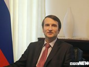 Le ministre conseiller de l'Ambassade russe au Vietnam présente les préparatifs de World Cup 2018