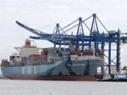 Ba Ria-Vung Tau: le port SSIT accueille le premier porte-conteneurs