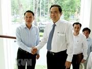Le président du CC du FPV salue la VNA en tant qu'agence d'information stratégique