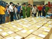 Des drogues dans un colis postal envoyé du Royaume-Uni