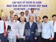 Le Premier ministre souligne le rôle important de la presse